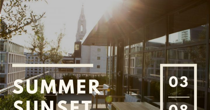 Summer Sunset Party City Private Members Club Rooftop Mixer