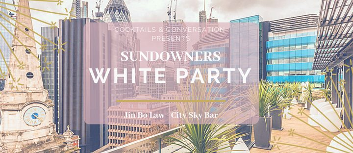 Sundowners Skybar – White Party